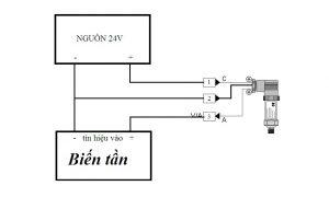 Cách đấu dây cảm biến áp suất 3 dây 0-10v